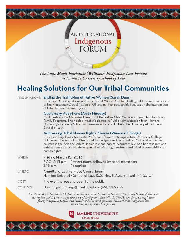2013 IndigenousFORUM13 flyer (3) (1)