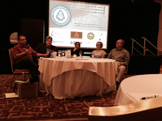 Mike Petoskey, Tim Connors, Cheryl Fairbanks, Kate Fort, and Fred Fisher