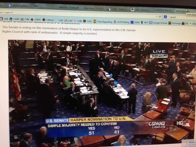 Keith Harper Senate Confirmation