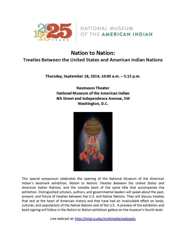 Program agenda for Nation to Nation Symposium_Page_1