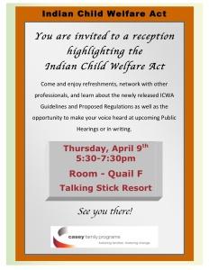 ICWA Reception Fed Bar flyer