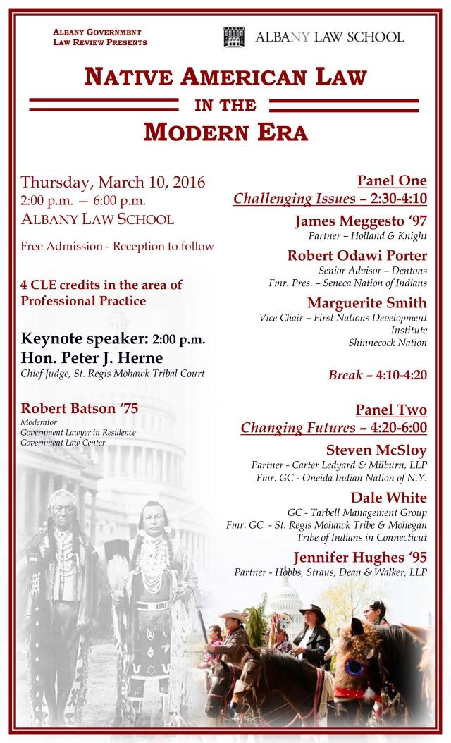 AGLR Symposium March 10 2016