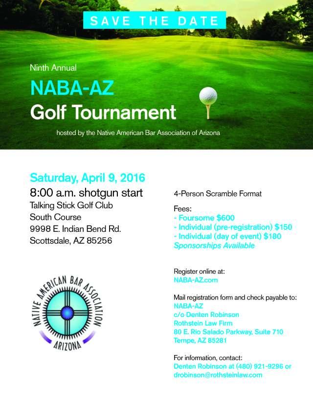 NABA-AZ Golf Tournament 2016