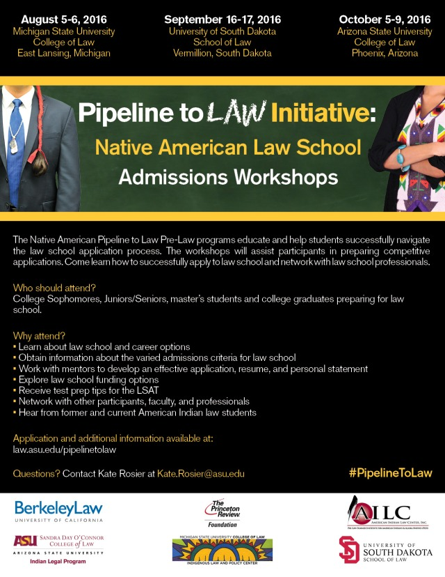 Pipeline To Law Workshops