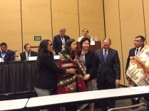 Mary Smith honored as the first Native American Officer of the ABA