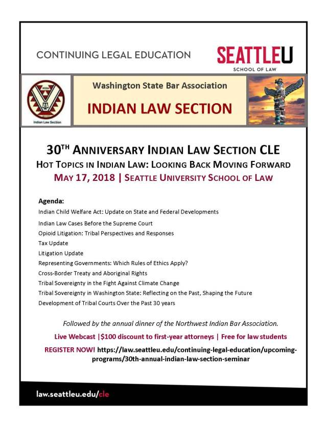 Flyer - 30th Indian Law Section CLE__Page_1