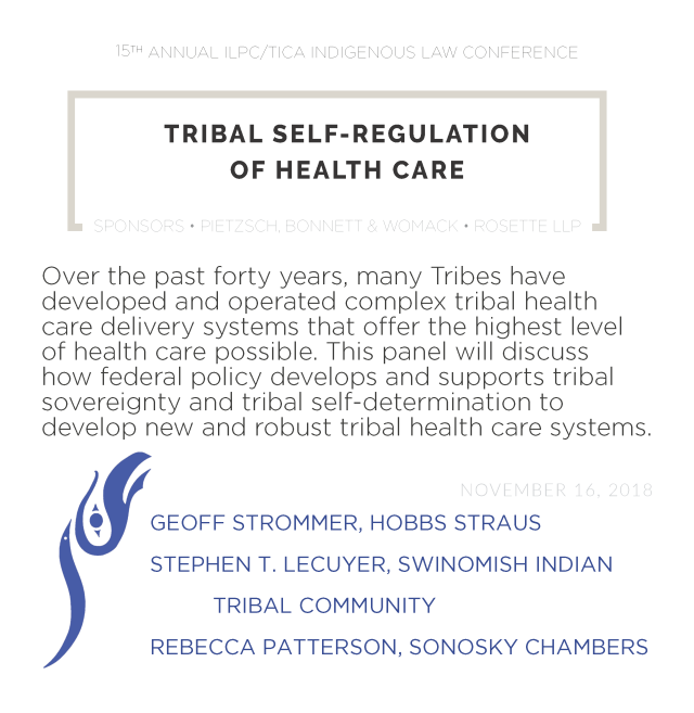 Panel Promos FINAL_05 Tribal Self-Regulation of Health Care