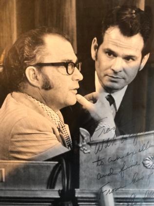 Frank Ducheneaux and Rep Lloyd Meeds