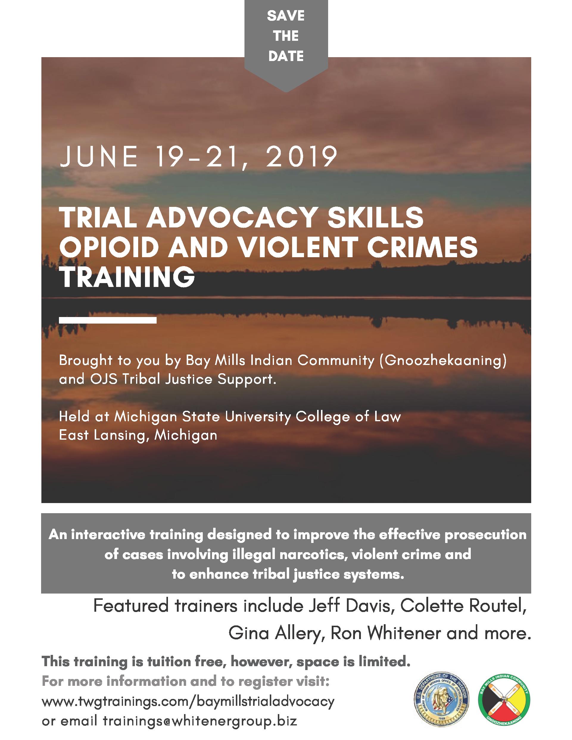 FREE Trial Advocacy Skills Training