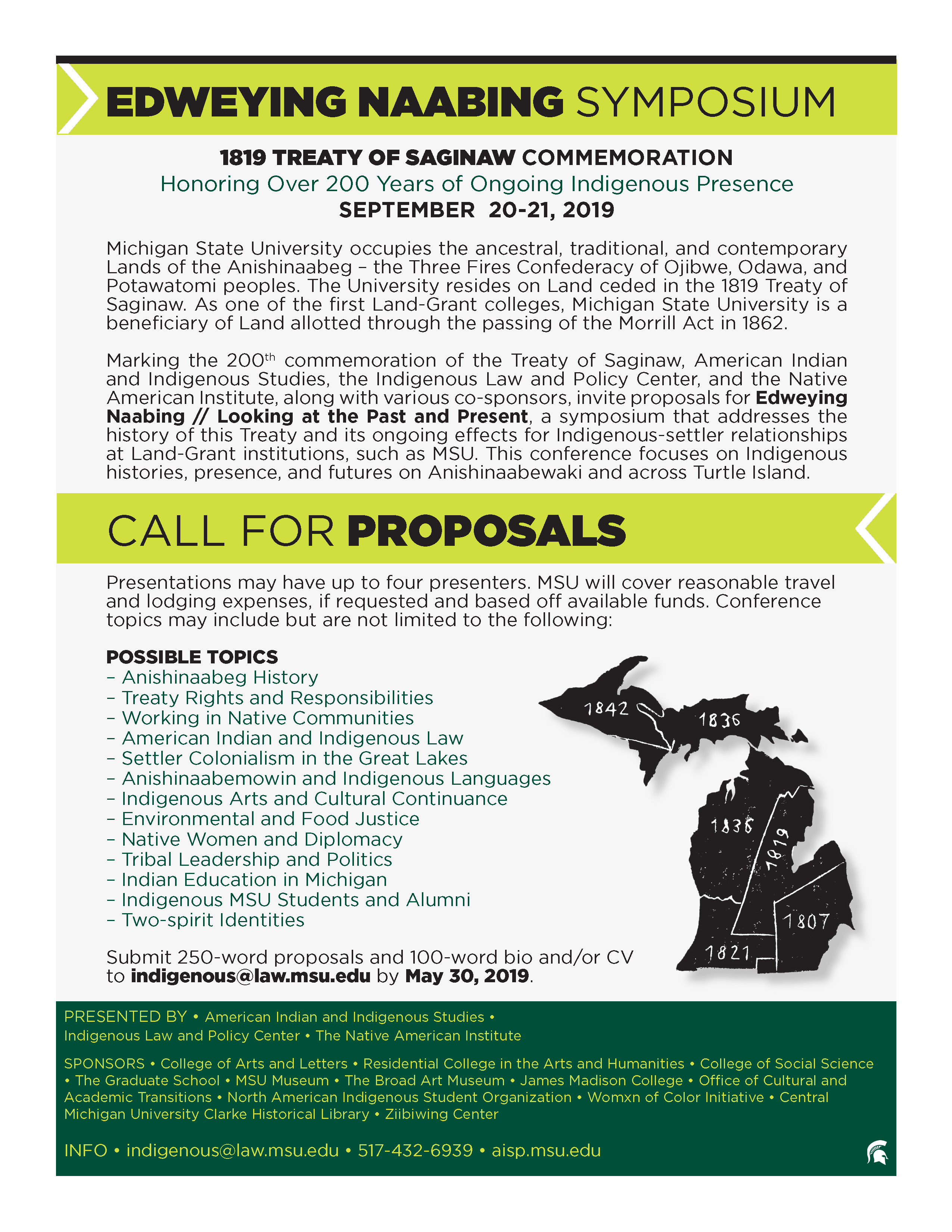 Call for Proposals: Edweying Naabing // Looking at the Past