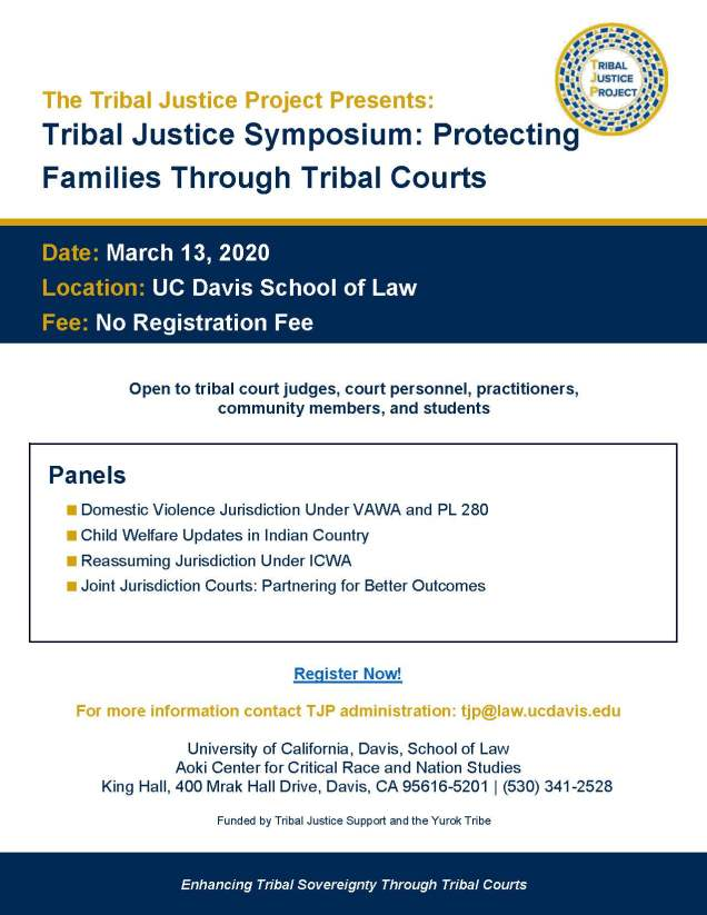 Tribal Justice Symposium Flyer and Agenda_Page_1